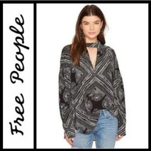 Free People  Walking on a Dream tunic